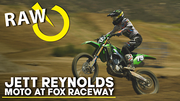 Jett Reynolds | RAW Moto At Fox Raceway