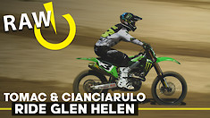 RAW | Tomac and Cianciarulo Ride Glen Helen