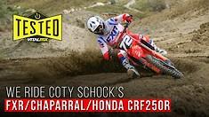 We Ride Coty Schock's Supercross Bike: FXR/Chaparral/Honda CRF250R