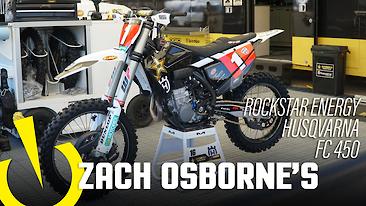 Zach Osborne's Rockstar Energy Husqvarna FC 450