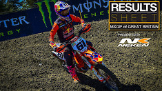 Results Sheet: MXGP of Great Britain