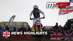 Video Highlights: MXGP of Great Britain