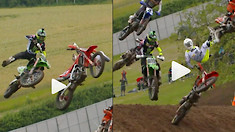CRASH: Henry Jacobi's Gnarly Get-Off From MXGP Of Great Britain