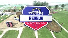 Animated Track Map: RedBud National
