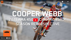 Cooper Webb - 2021 AMA 450SX Championship season retrospective | KTM