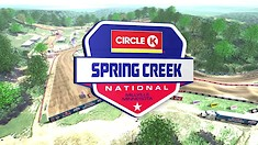 Animated Track Map: Spring Creek National