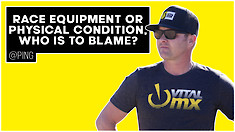 Race Equipment or Physical Condition, Who Is to Blame? | @Ping