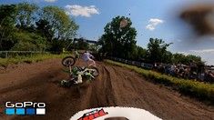 Onboard: Tim Gajser, Ivo Monticelli, Jeremy Seewer, & Jago Geerts - MXGP of the Netherlands