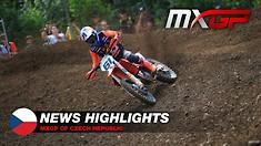 Video Highlights: MXGP of Czech Republic