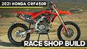 Race Shop Build: 2021 Honda CRF450R