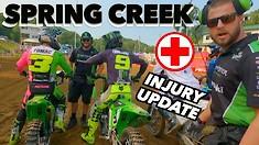 Adam Cianciarulo's Vlog - Spring Creek National & Injury Update