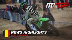 Video Highlights: MXGP of Flanders-Belgium