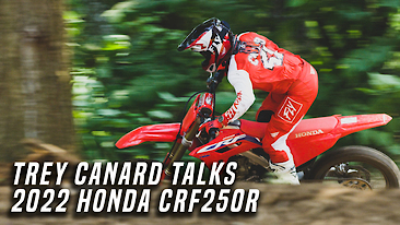 Trey Canard Talks 2022 Honda CRF250R