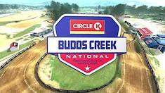 Animated Track Map: Budds Creek National