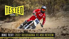 Bike Test: 2022 Husqvarna FC 450 Review