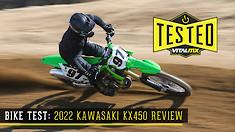 Bike Test: 2022 Kawasaki KX450 Review