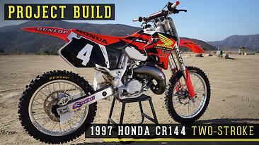 1997 Honda CR144 Two-Stroke Project Build