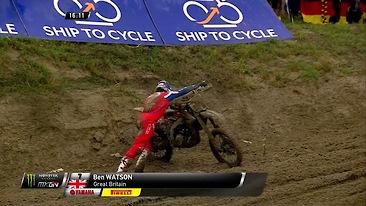 CRASH: Ben Watson - Motocross of Nations