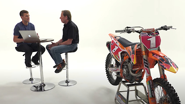 Roger DeCoster and Ryan Dungey Talk about Fear in Racing Motocross