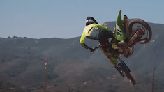 Jason Anderson's First Day on Monster Energy Kawasaki - Team Fried