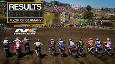 Results Sheet: MXGP of Germany