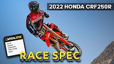 Race Spec: 2022 Honda CRF250R