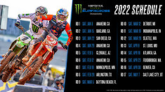 Tickets go on Sale for the 2022 Monster Energy Supercross Series, East vs West Announced, and Health Restriction Info