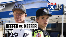 Keefer Vs. Keefer, Part Two   Father Vs Son, the Sequel - Racer X