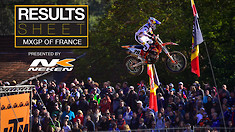 Results Sheet: MXGP of France