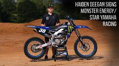Haiden Deegan Signs with Monster Energy/Star Yamaha Racing