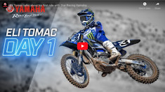Eli Tomac talks about his first ride with Star Racing Yamaha