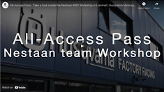 All-Access Pass - Take a look inside the Nestaan MX2 Workshop in Lommel