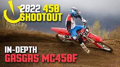 In-Depth 2022 450 Shootout: GasGas MC450F