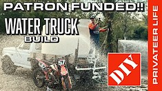 DIY Building a Water Truck - The Privateer Life with Kevin Moranz