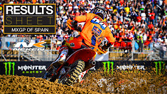 Results Sheet: MXGP of Spain