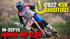 In-Depth 2022 450 Shootout: Honda CRF450R