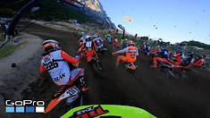Onboard: Tim Gajser, Jeremy Seewer, Jago Geerts, & Courtney Duncan - MXGP of Trentino