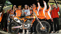 Must-See Photo: KTM's First Supercross Win