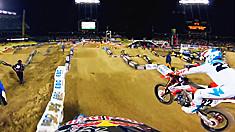 GoPro HD: James Stewart Main Event Los Angeles Monster Energy SX 2012