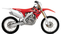 2013 Honda CRF250R and CRF150R