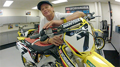 Inside the Team Yoshimura Suzuki Race Shop