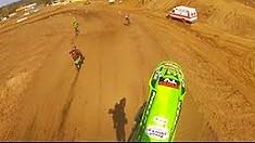 MXPTV Helmet Cam: Kenny Venarchick - 125cc Pinned! - KROC