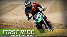 First Ride: 2014 Kawasaki KX250F