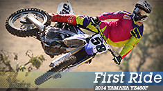 First Ride: 2014 Yamaha YZ450F