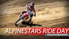 2014 Alpinestars Gear Intro and Ride Day