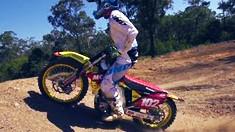 Matt Moss 2014 Suzuki RM-Z450 SX Testing