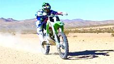 Destry Abbott's KX500 Championship Bike