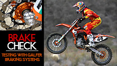 Brake Check:Testing with Galfer Braking Systems
