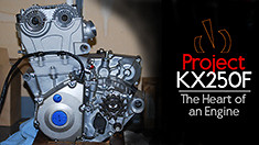 Project KX250F: The Heart of an Engine