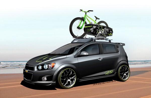 Ricky Carmichael 2011 SEMA Chevrolet Concept Sonic - Motocross News ...
